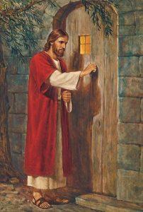 ježíš Kristus u dveří