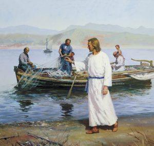 Kristus svolává rybáře