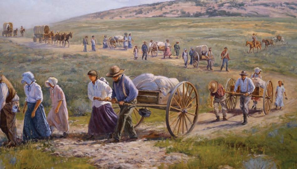 Mormonští pionýři – odkaz, který trvá