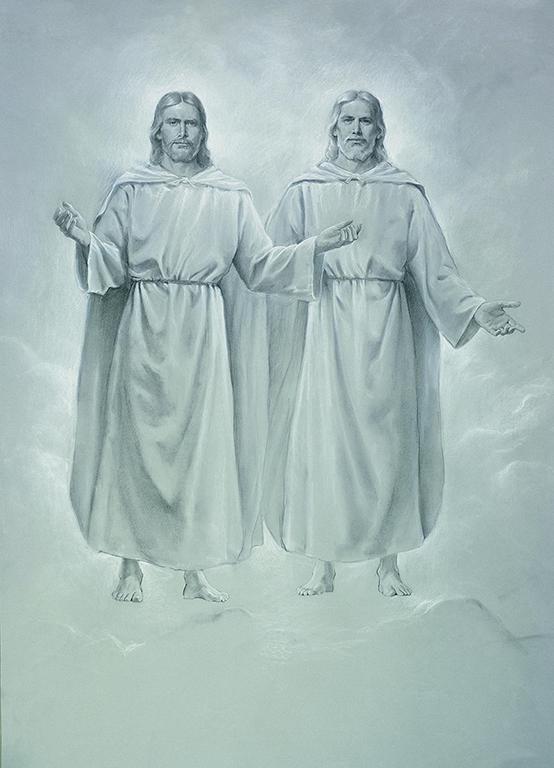 Nebeský Otec a Ježíš Kristus v těle