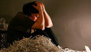 Zena v depresi