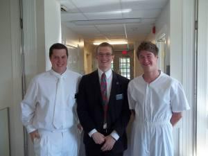 misionari před křtem