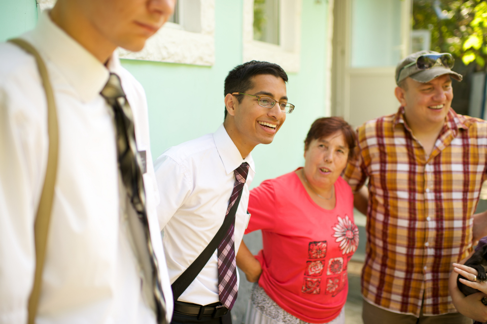 misionáři se členy