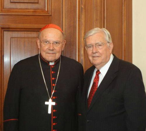 Starší Ballard ve Vatikánu