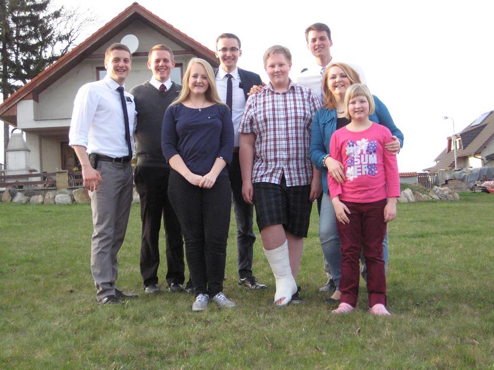 Stepanka srodinou a misionáři