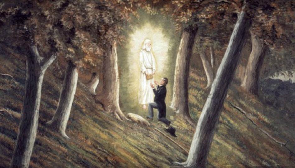 andel moroni se zjevuje Proroku Josephu Smithovi