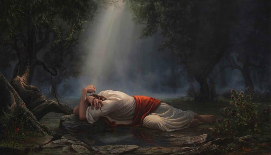 Getsemany od Adama Abramse