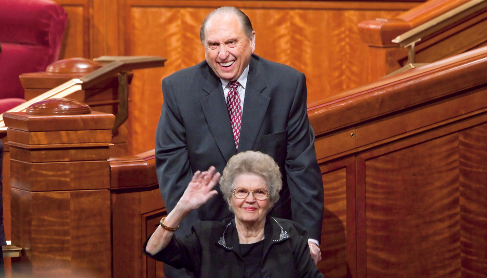 thomas s monson and frances