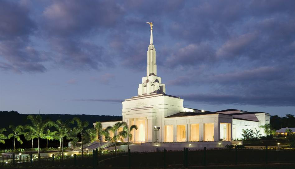 chrám Apia Samoa