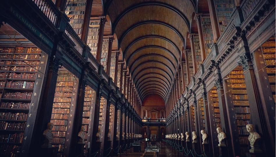 stara knihovna