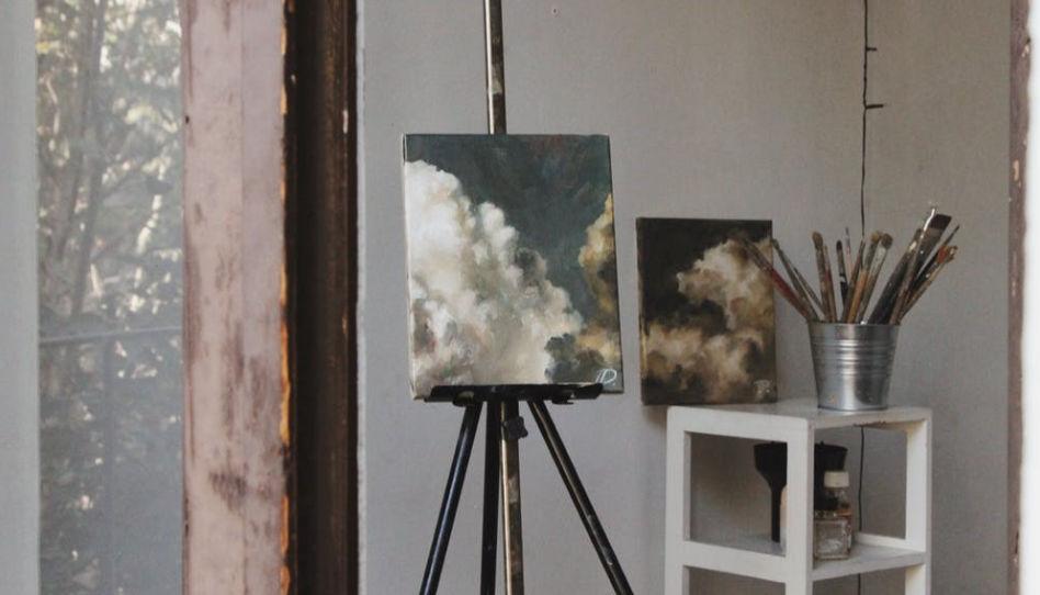 obraz v atelieru