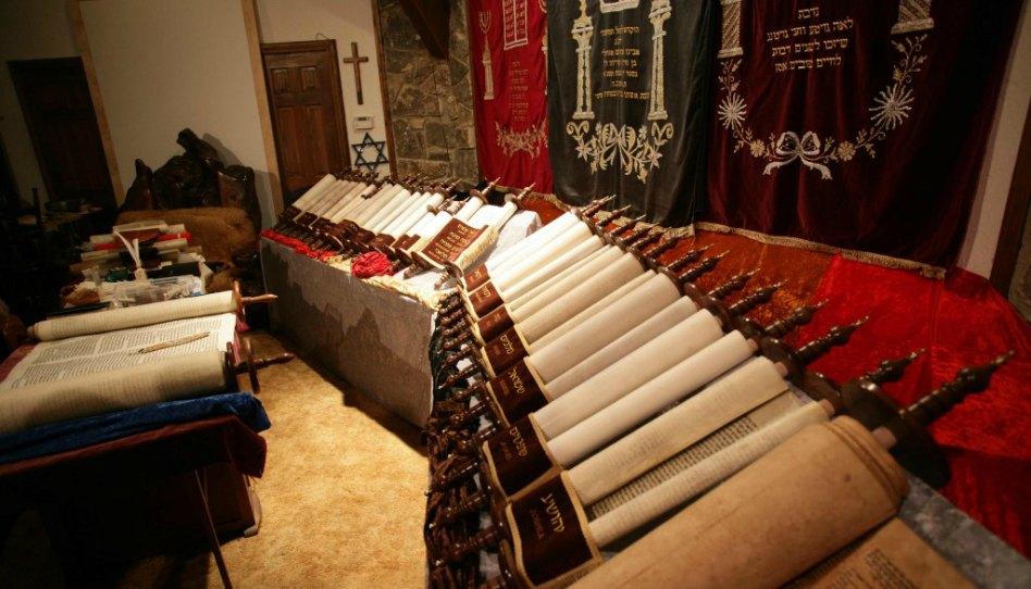 Kompletní sada židovských svitků Tanachu