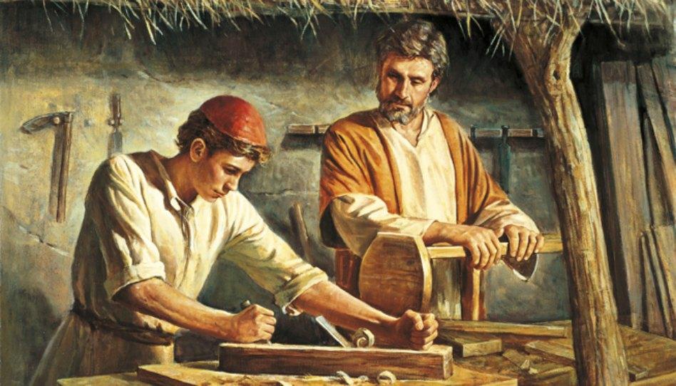 Ježíšovo mladí - obraz Dela Parsona