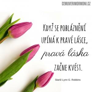 Když se pobláznění upíná k pravé lásce, prvá láska začne kvést